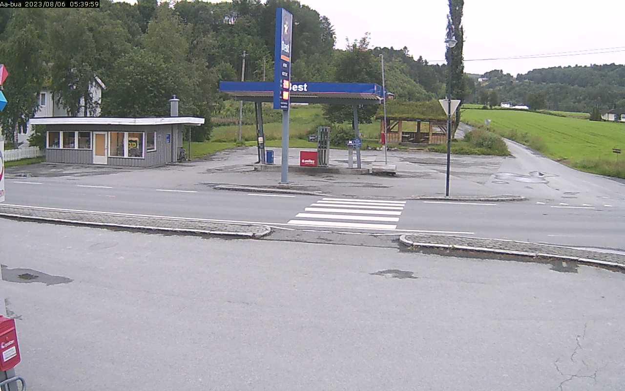 Webcam Å, Meldal, Trøndelag, Norwegen